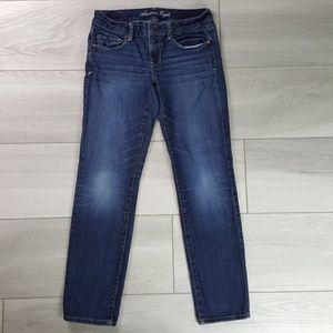 American Eagle Stretch Skinny Jeans Size 6 Short